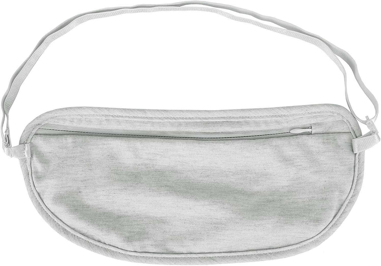 Travelon Women's Ladies Undergarment Waist Pouch, Gray, One Size