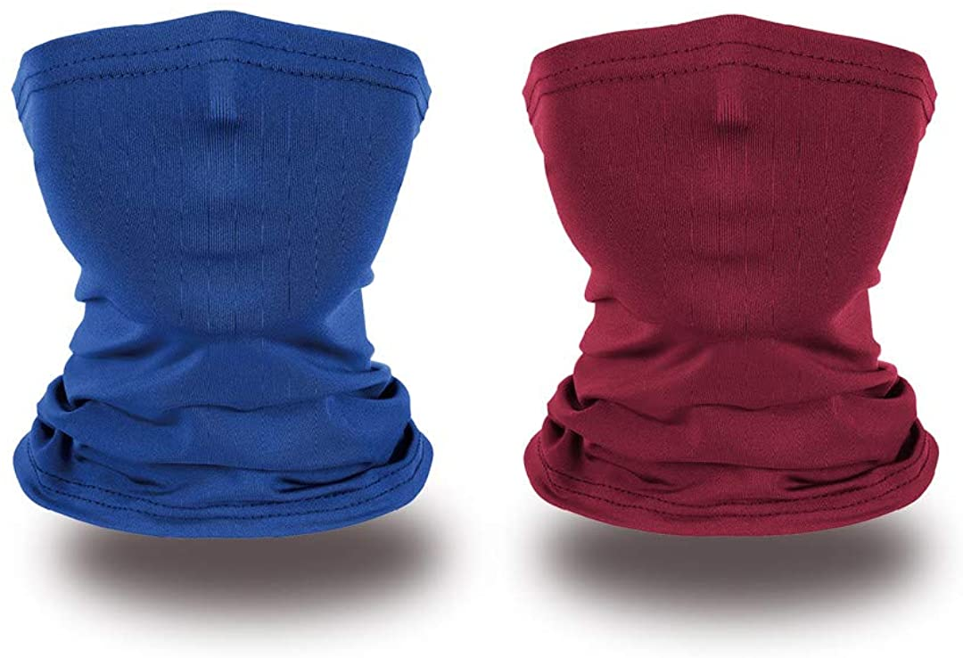 Kids Neck Gaiter Face Cover Bandana for Hot Summer Cycling Hiking Sport Outdoor