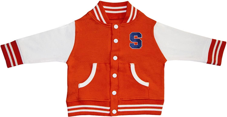 Creative Knitwear Syracuse University Varsity Jacket