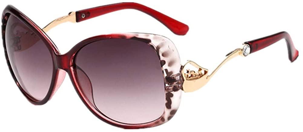 Vintage Cat's Eye Sunglasses For Women 100% UV Protection Classic Retro Designer Style