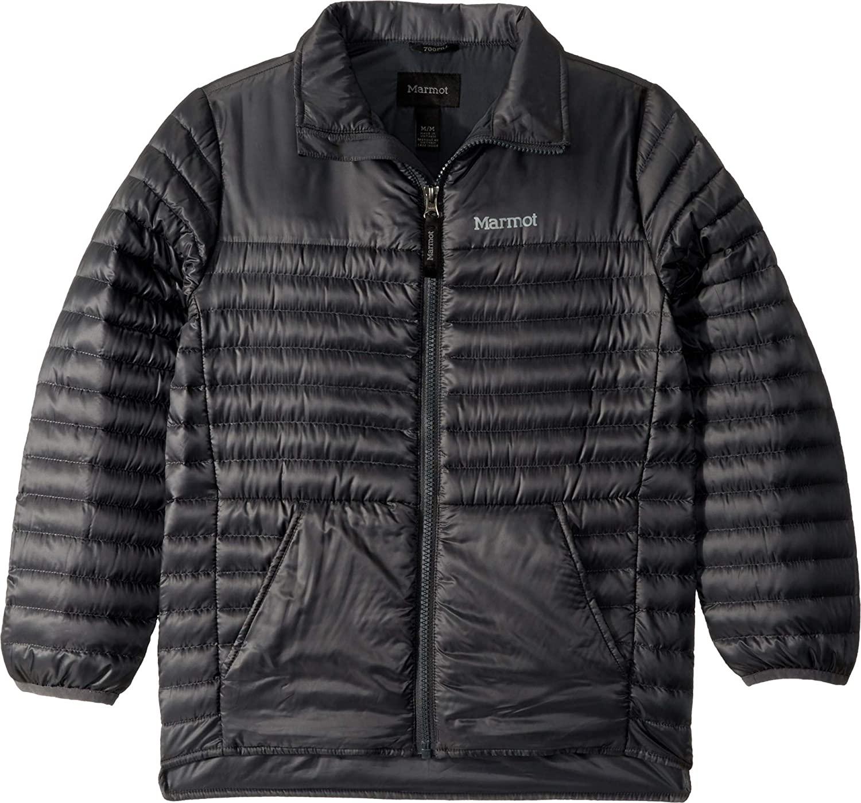 Marmot Kids Boy's Hyperlight Down Jacket (Little Kids/Big Kids) Dark Steel MD (8 Big Kids)
