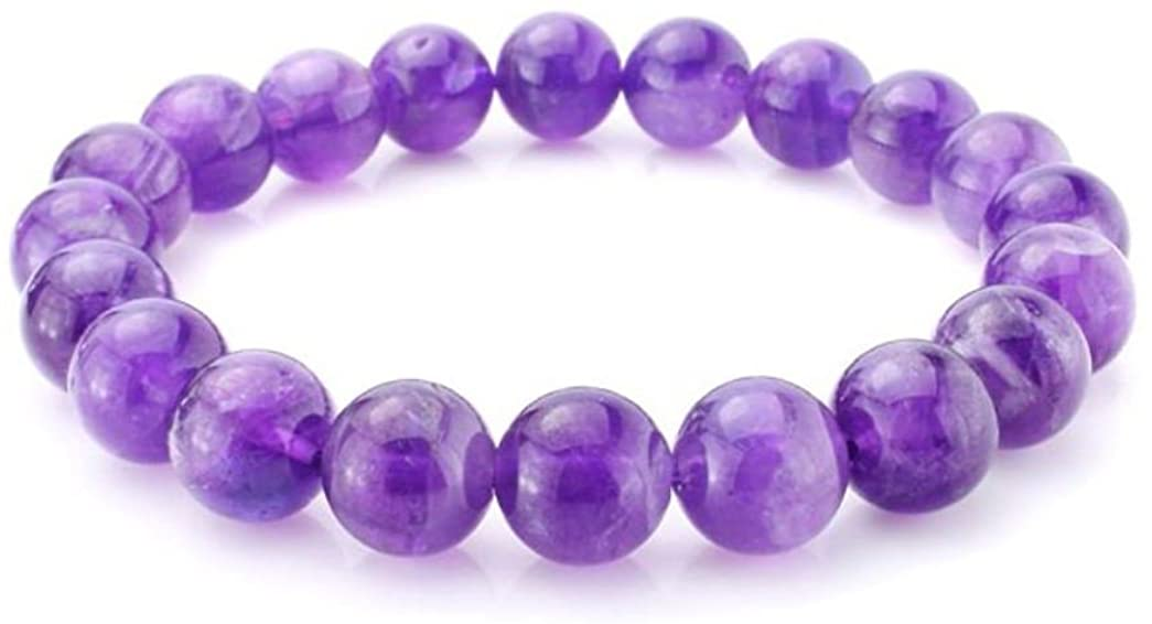 Adabele Natural Gemstone Bracelet 7.5 inch Stretchy Chakra Gems Stones 8mm (0.31