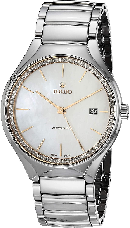 Rado Women's True Diamond Ceramic Swiss Automatic Watch