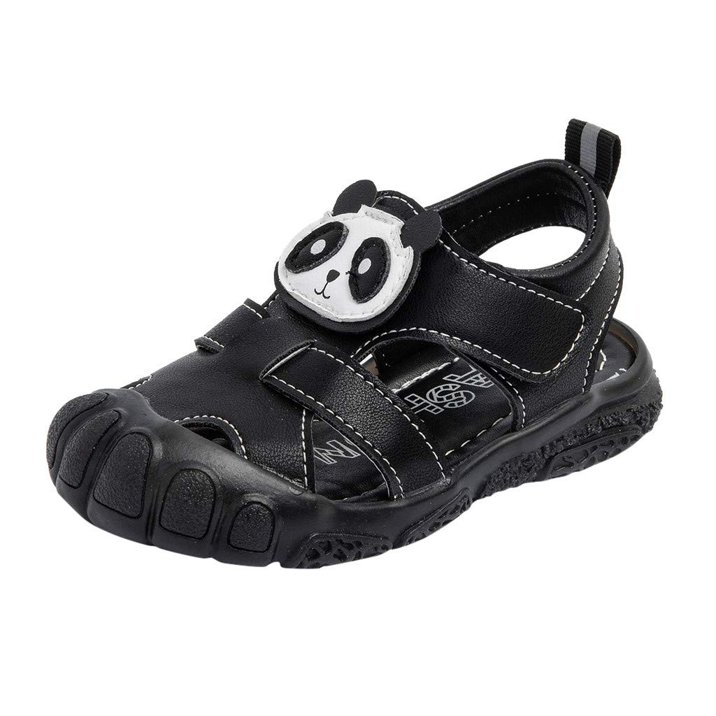 Shoes for Kids Baby, Toddler Infant Kids Baby Boys Beach Shoes Student Solid Outdoor Sandals, Baby Clothes Onsale Black 3.5-4 T