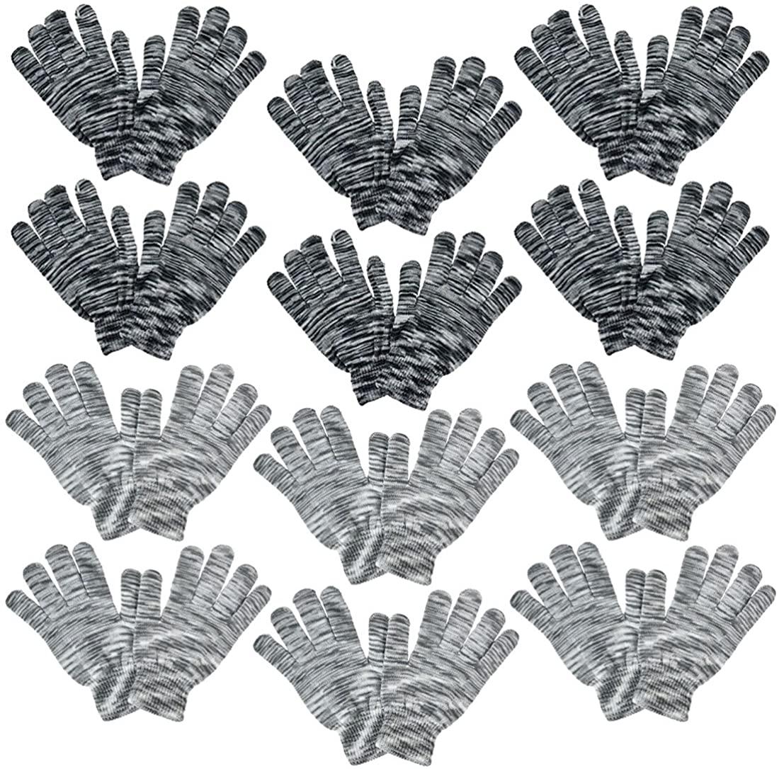 Ladies Gloves Space Dye Tie Dye Winter Magic Glove SETS