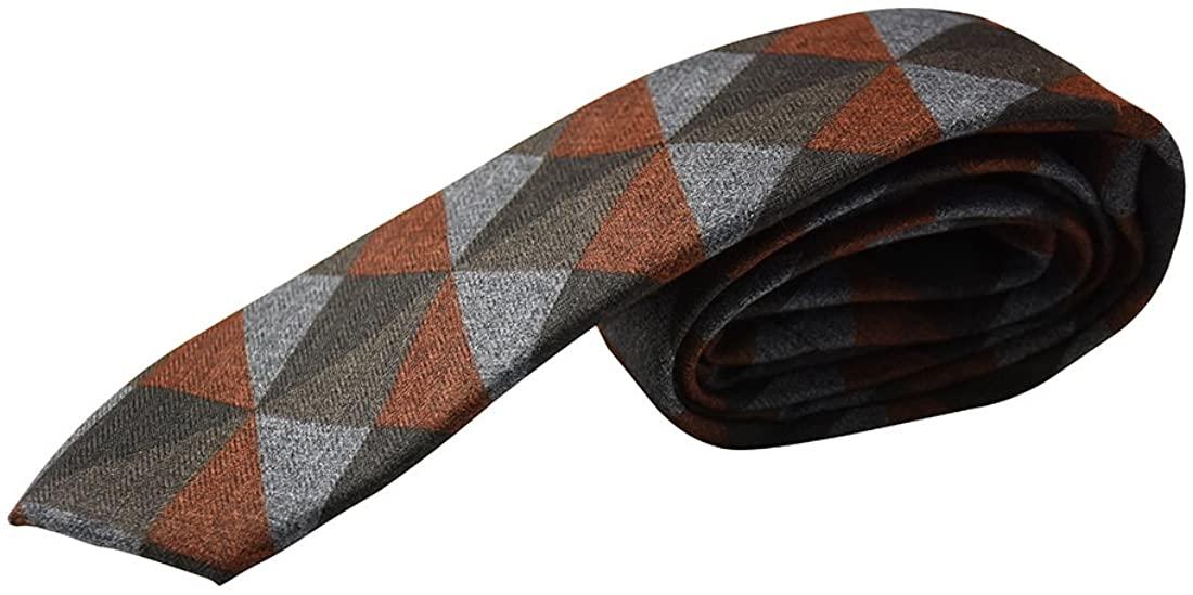 Diamond Wool Youth Tie