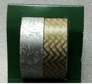 Christmas Washi Tape Sets - Gold/silver