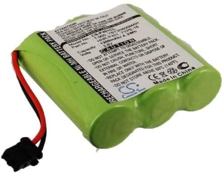 1200mAh Battery Replacement for Panasonic KX-TG2397 KX-TG210 KX-TG2400 KX-TG210B KX-TG2690 KX-TG2407 KX-TG2560B KX-TG2575 KX-TG2560 KX-TG2650 KX-TG2670 M240B HHR-P401 HHR-P401A PQKK10093 Type 16