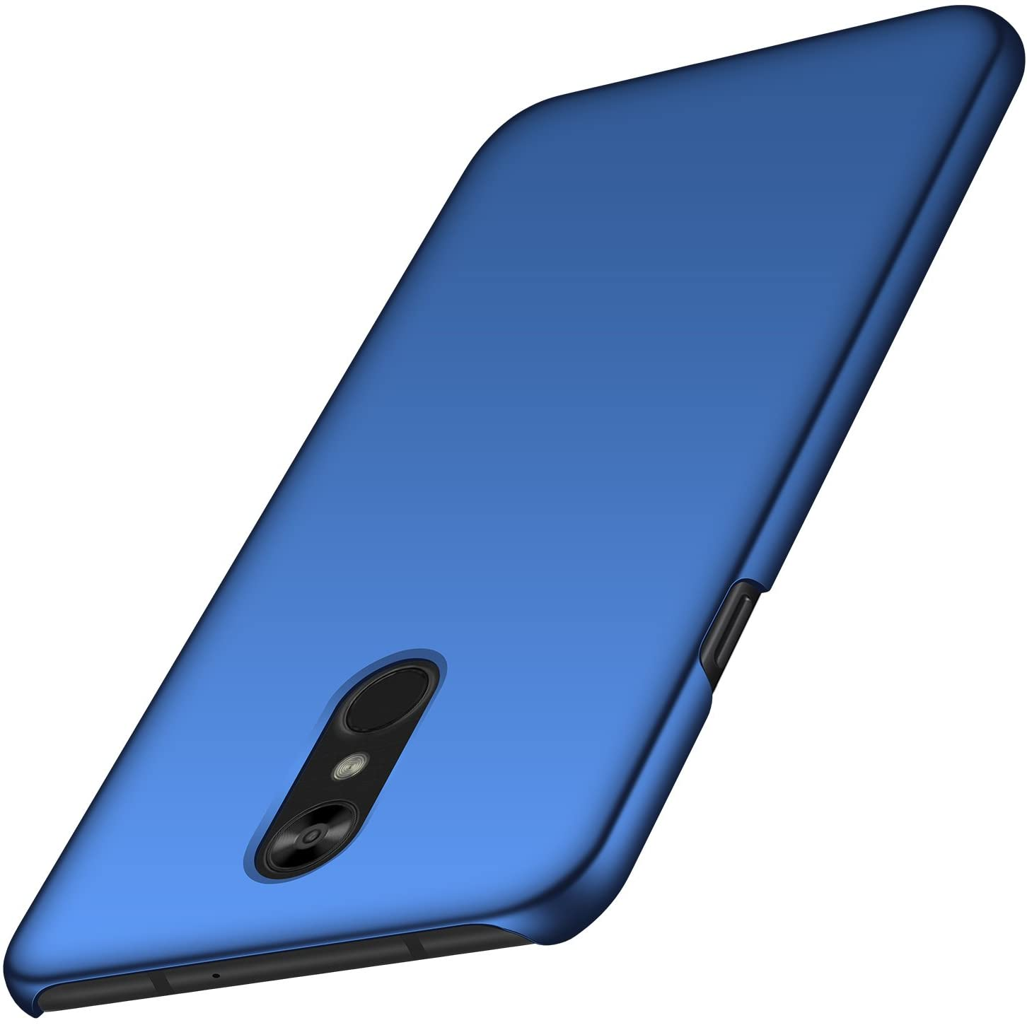 Arkour LG Stylo 4 Case, Minimalist Ultra Thin Slim Fit Smooth Matte Surface Hard PC Cover for LG Stylo 4 (Smooth Blue)