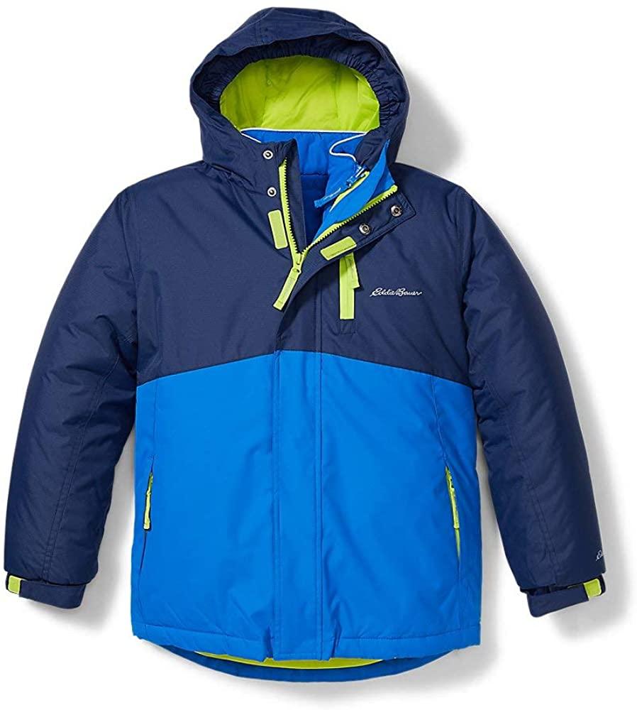 Eddie Bauer Boys 3-in-1 Coat - Inner Jacket, Waterproof Shell