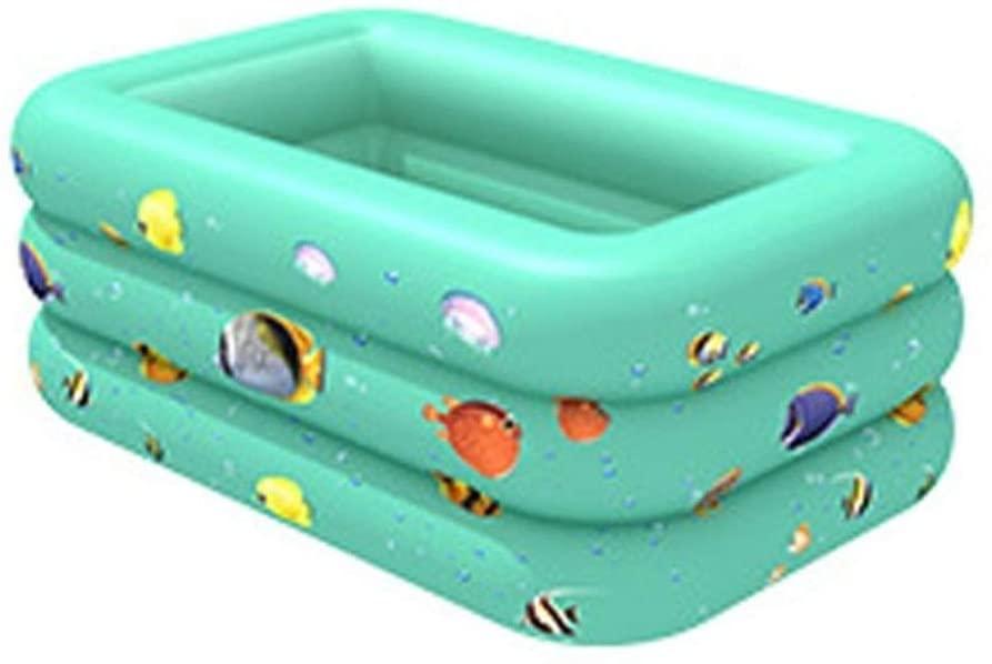 Summer Inflatable Swimming Pool Backyard Inflated Bathtub Garden Kid Bathing Tub Inflatable Swimming Pool (Color : 9FF1001069 2)