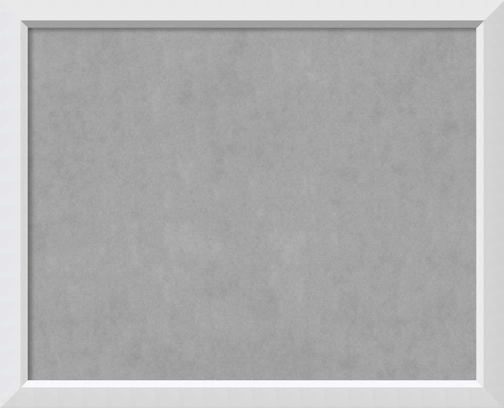 Framed Magnetic Board Bulletin Board | Magnet Board Blanco White Frame| Framed Magnetic Boards | 42.00 x 34.00