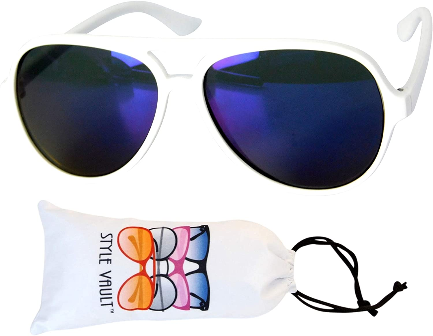 KD3149 Baby Infant Age 0-24 Months Aviator turbo Toddler Sunglasses reflective lens