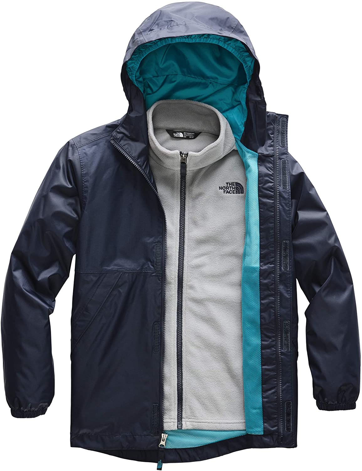 The North Face Kids Boy's Stormy Rain Triclimate (Little Kids/Big Kids)