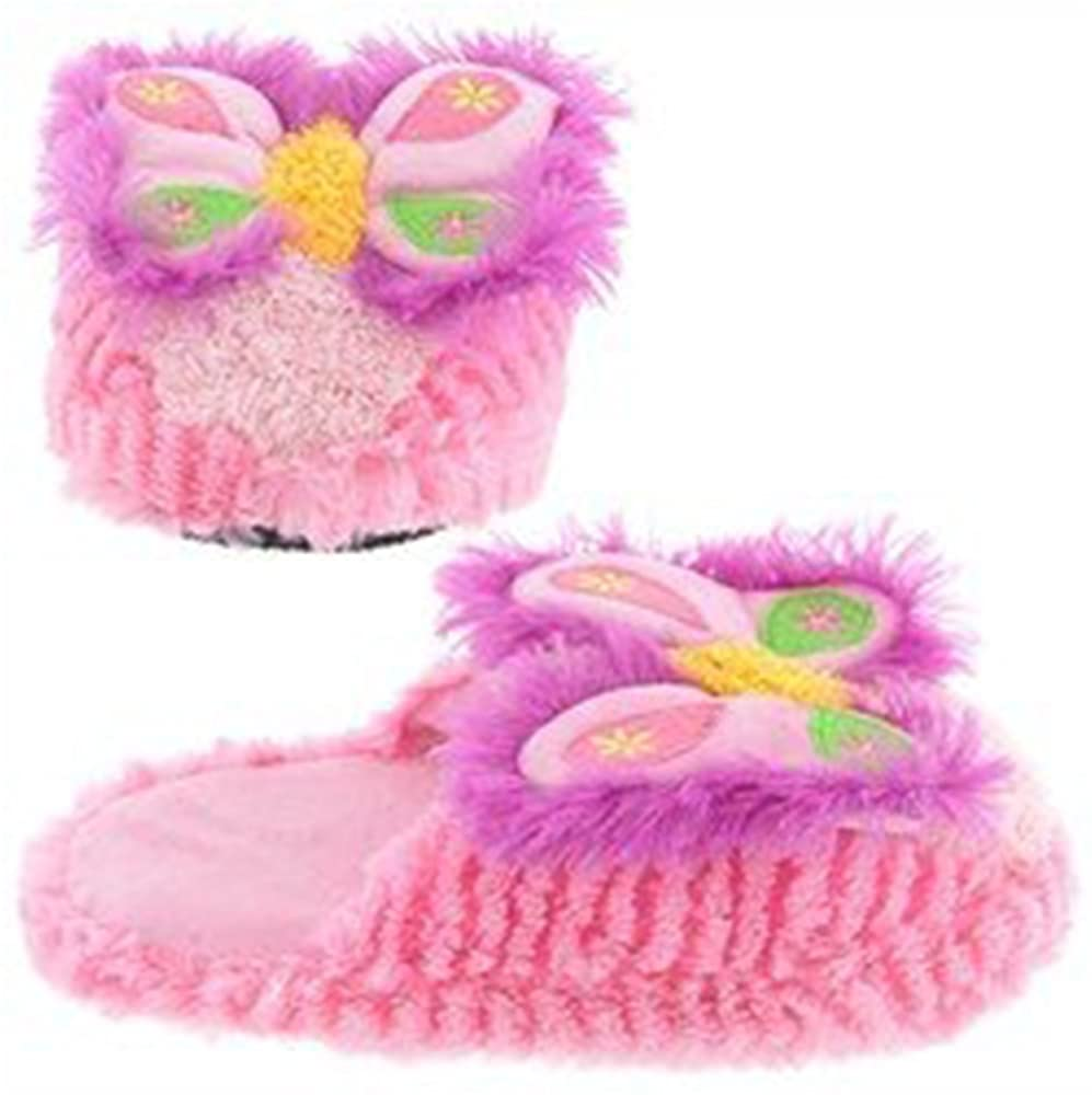 Kreative Kids Plush Animal Non-Skid Slippers - Size 11-12 5-6 Years Old