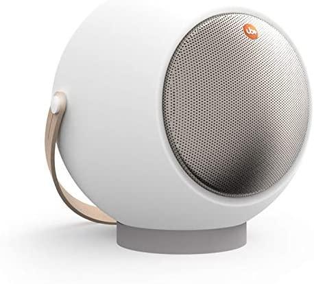 TGI Eupho E2 AptX Low Latency Bluetooth Spherical Speaker (White)