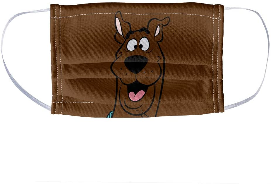Scooby-Doo Kids Happy Face 1-Ply Reusable Face Mask Covering