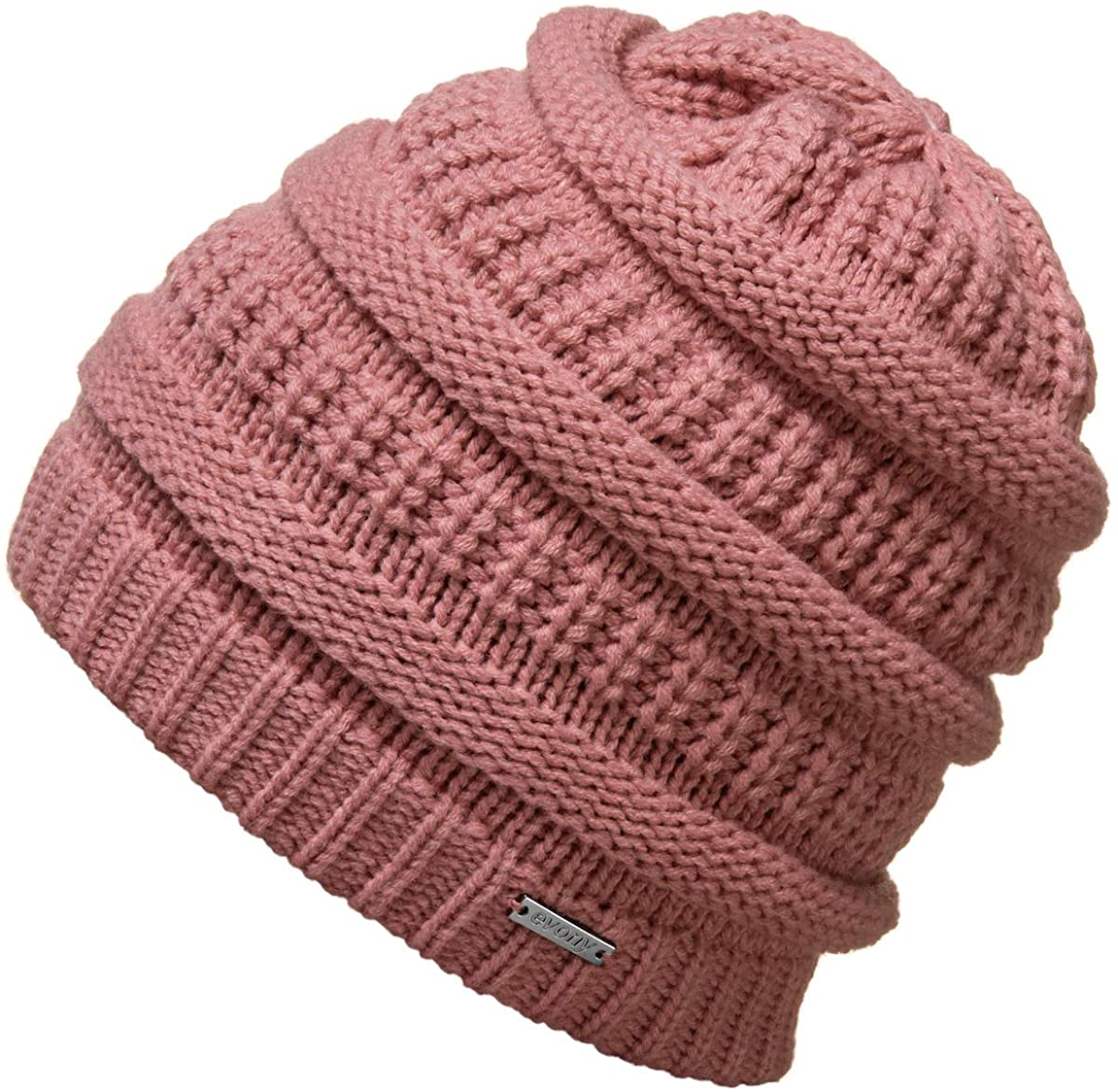 Revony Knitted Beanie Hat for Women & Men - Deliciously Soft Chunky Beanie