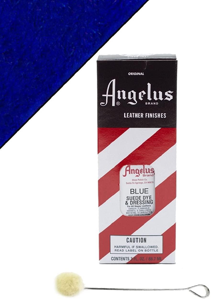 Angelus Brand Suede & Nubuck Dye & Dressing w/Applicator - 3 oz