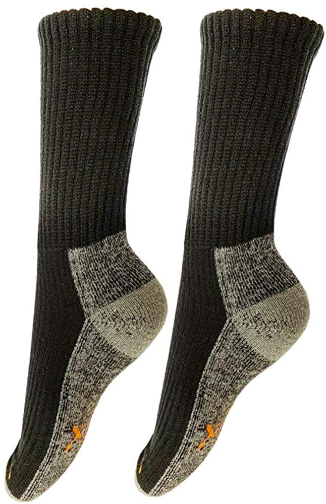 Vis HomeYard Hiking & Walking Socks 1-Pack for Men, Women & Kids, Trekking, Outdoor Size 9.5-12