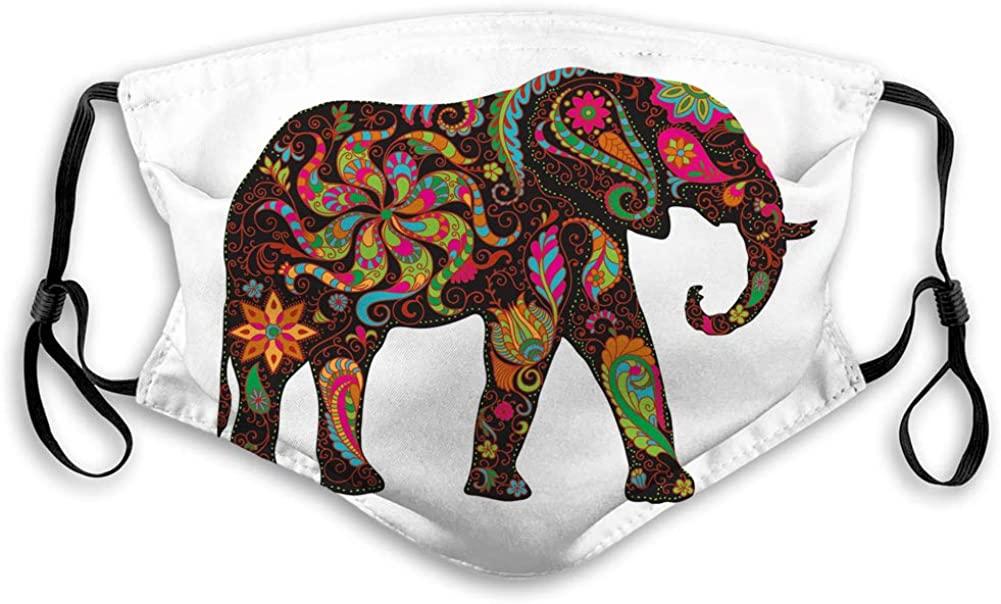 GIRDEAR Breathable Reusable Outdoor Mouth Cover Elephant Face Shield