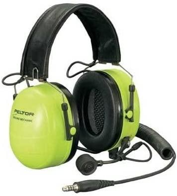 Peltor Ground Mechanic Head Ground Mechanic headset, Black Cups, NRR 25 dB