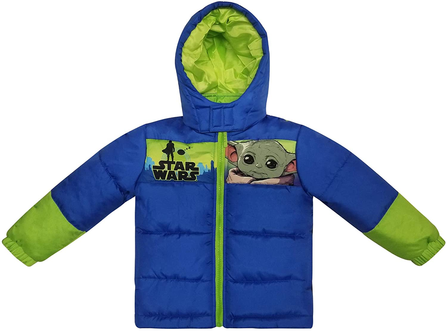 Dreamwave Toddler Boys Warm Winter Puffer Jacket Coat Baby Yoda