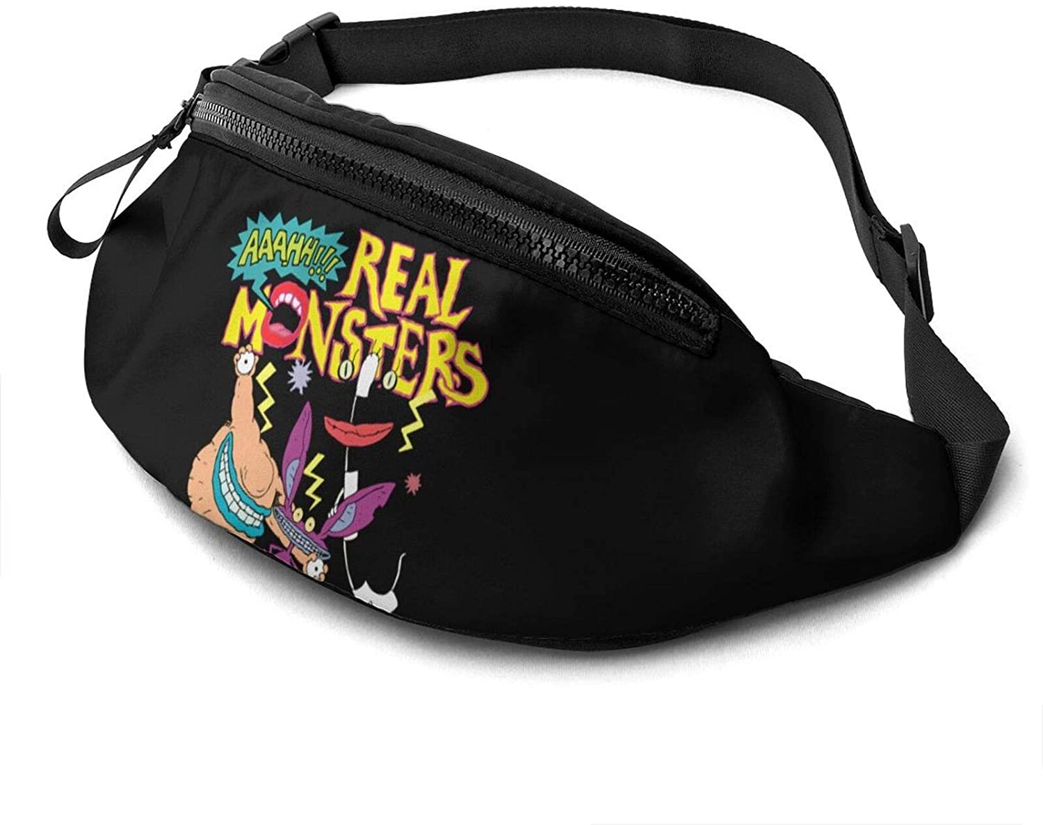 Aaahh!!! Real Monsters Fanny Pack Running Waist Pack Bag Casual Super Lightweight Fanny Pack for Unisex