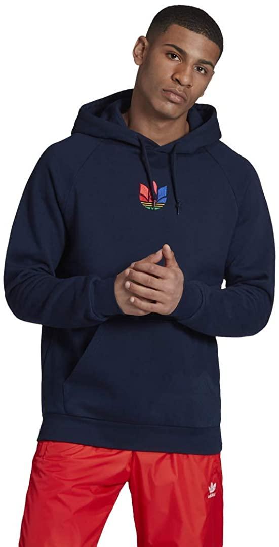 adidas Originals Men's 3D Trefoil Graphic Sweat Hoodie