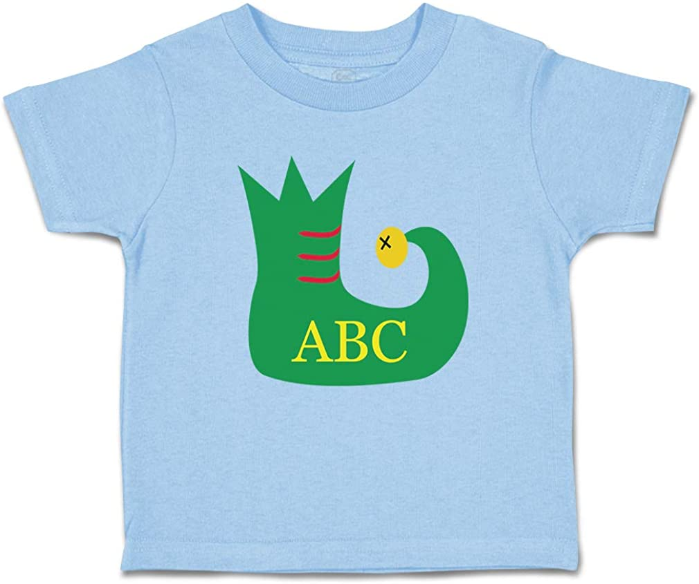 Custom Toddler T-Shirt Personalized Monogram Christmas Elf L Boy & Girl Clothes