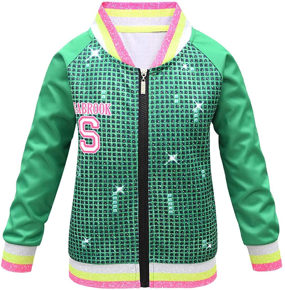Tsyllyp Kids Halloween Costumes Boys Zipper Jacket Set Birthday Party Cosplay with Pocket