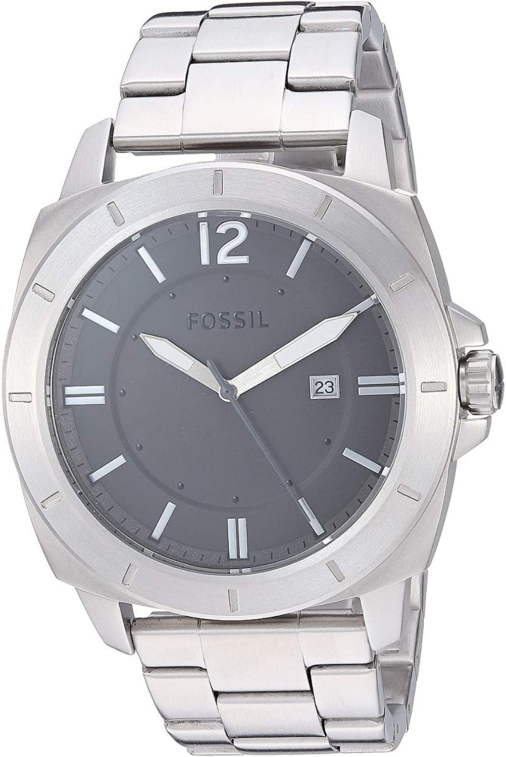 Fossil Privateer Sport Three-Hand Date Stainless Steel Watch - BQ2320