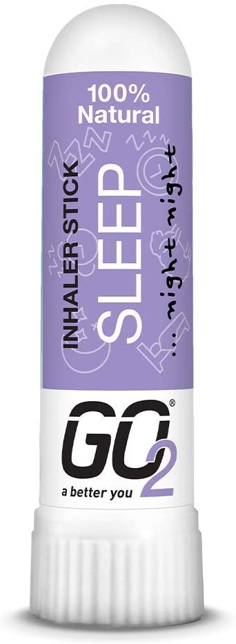 GO2 Inhaler Sleep Stick - Essential Oils for Convenient On-The-Go Use - 100% Natural, Synthetic-Free and Cruelty-Free (1ml Tube) GO2004CDU