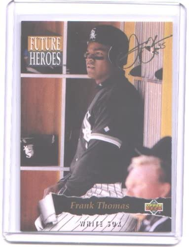 1993 Upper Deck Future Heroes #62 Frank Thomas - Chicago White Sox