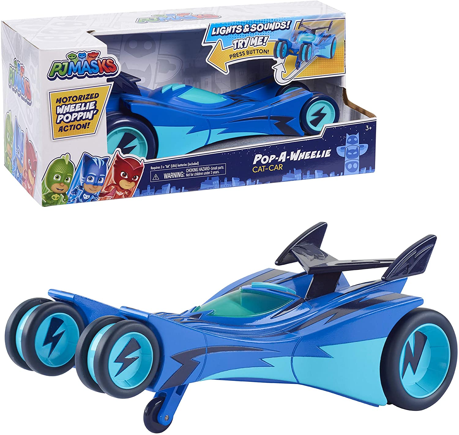 PJ Masks Pop-A-Wheelies - Cat Car