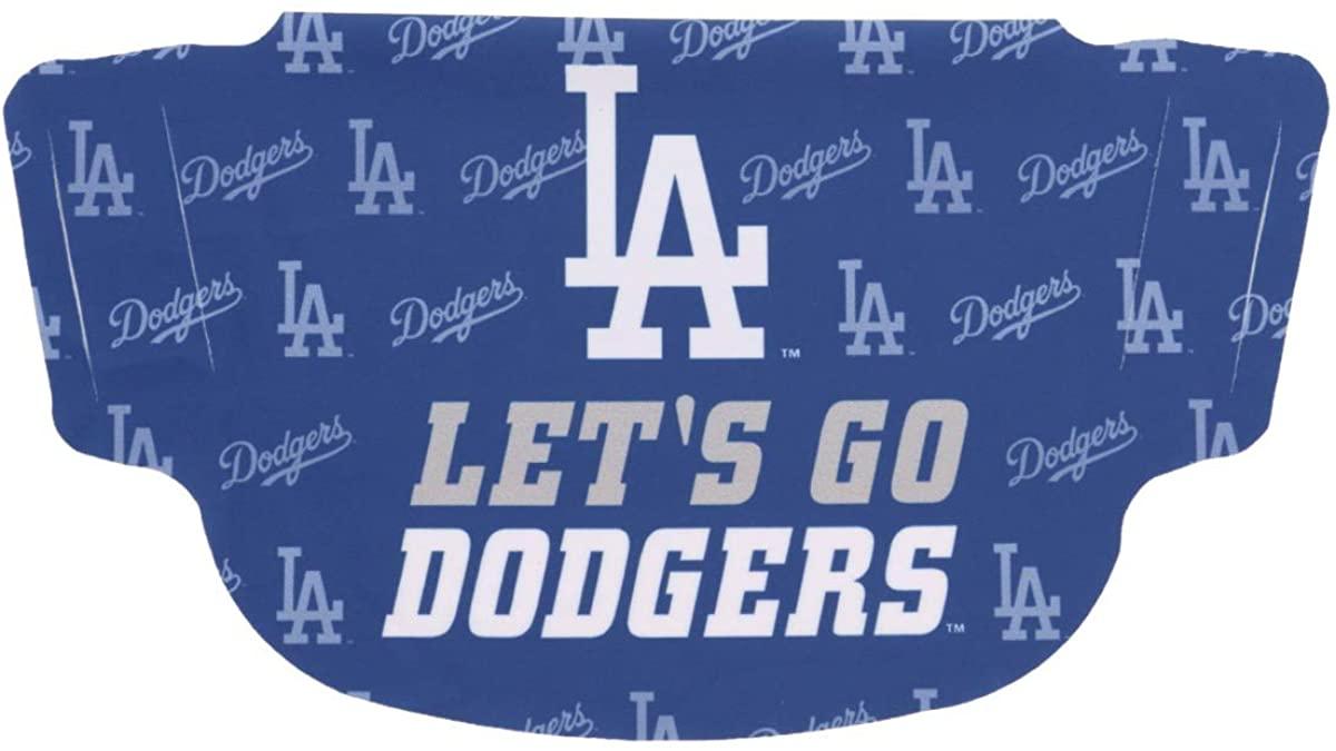 Los Angeles Dodgers Dot Face Mask