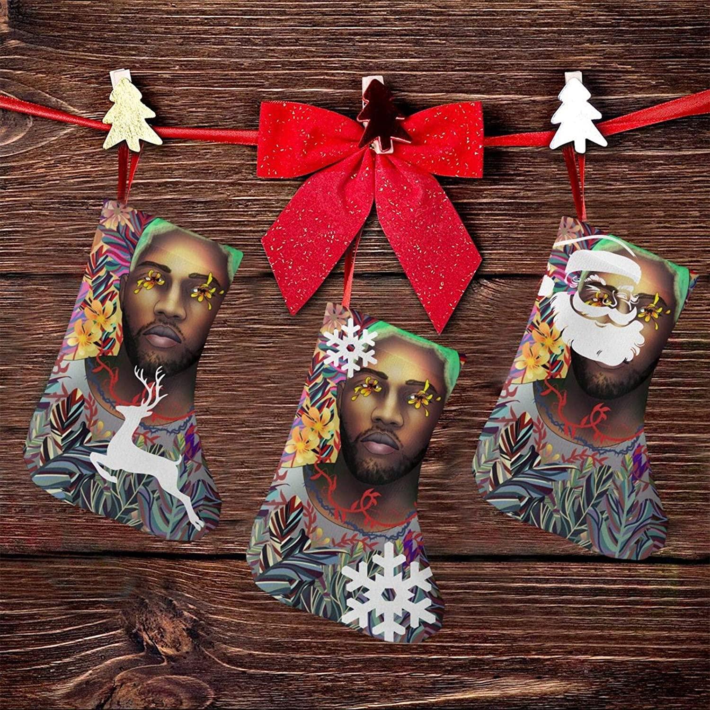 JINfjapafg Music Frank Ocean Christmas Stockings, 3 Sets of 7.5