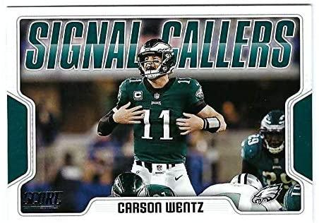 CARSON WENTZ 2018 Score Signal Callers #24 Football Card Philadelphia Eagles