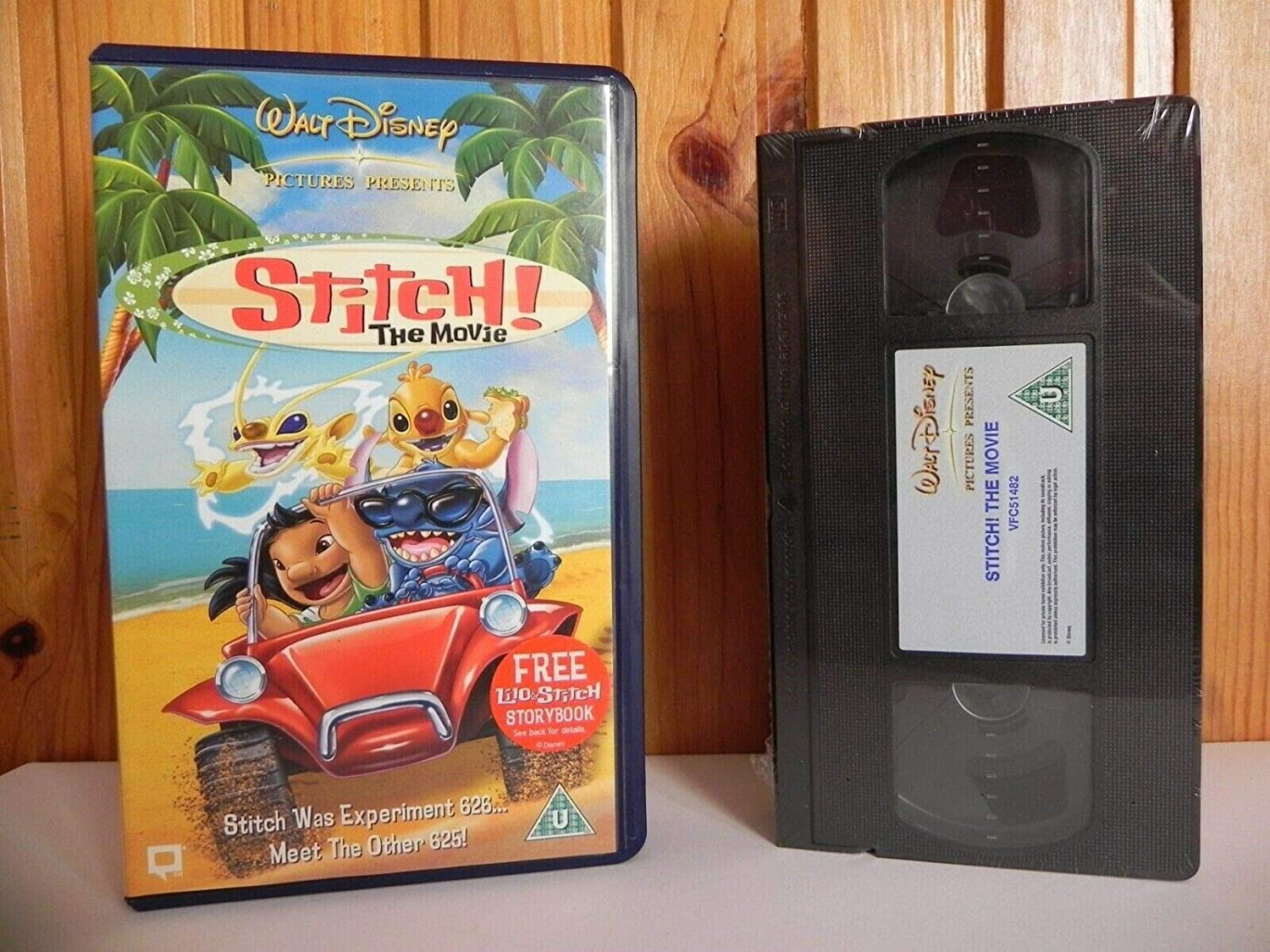 Stitch! The Movie [VHS]