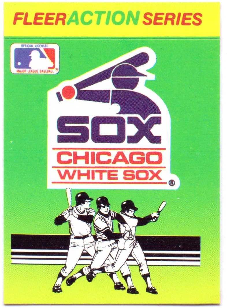 Chicago White Sox 1990 Fleer Baseball Quiz