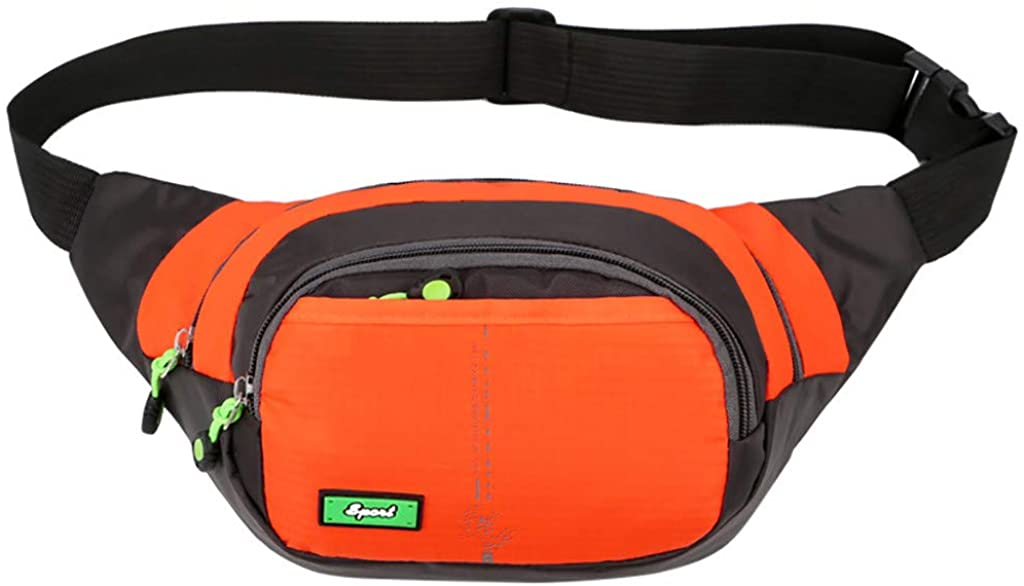 Centory Running Fanny Pack, Water Resistant Elastic Adjustable Belt for Men Women for Cycling Hiking Outdoor Sports