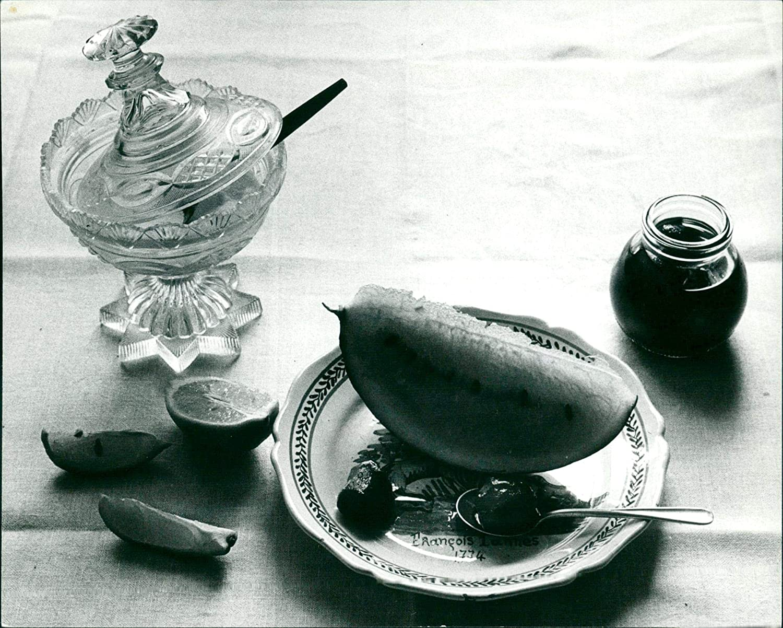 Real Food/Consumption Melons - Vintage Press Photo
