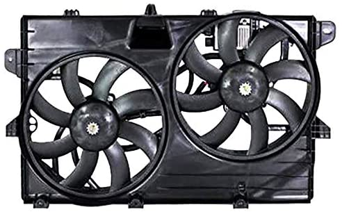 Rareelectrical New Engine Cooling Fan Compatible With Ford Edge 2011-2014 by Part Number 7T4Z-8C607-A 7T4Z8C607A CT4Z-8C607-B CT4Z8C607B FO3115177