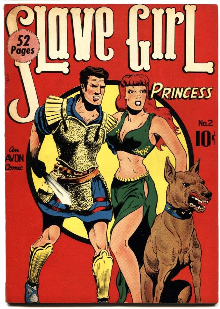 Slave Girl Comics #2 Spicy Good Girl Avon Spicy GGA VG/FN