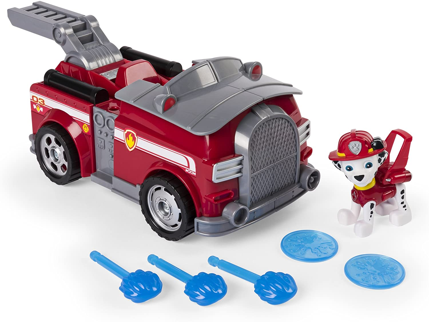 Paw Patrol – Flip & Fly Marshall, 2-in-1 Transforming Vehicle