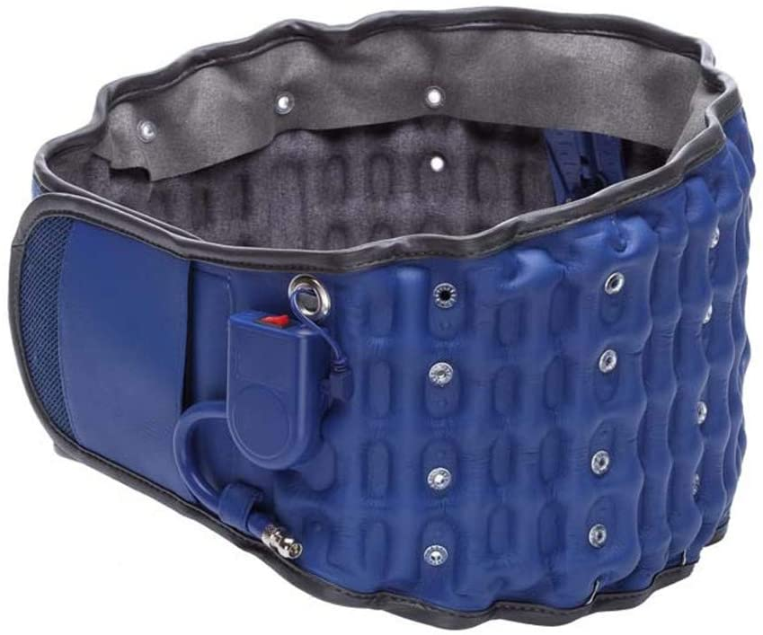 Back Support - Immediately Relieve Low Back Pain, Disc Herniation, Sciatica, Scoliosis, Etc! – Electric Heating Belt, with Wormwood Bag, Lumbar Disc Herniation