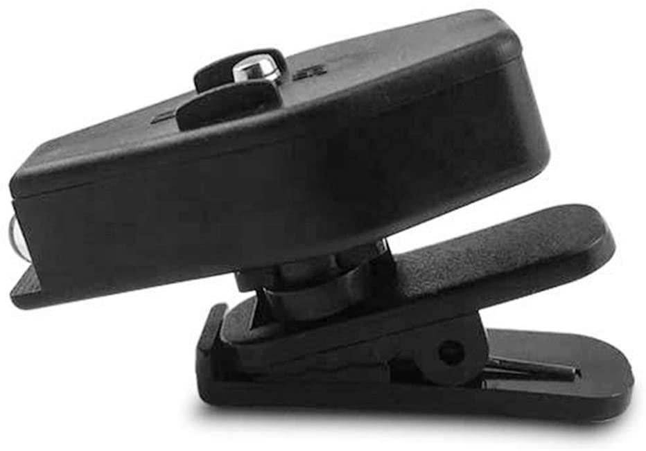 MYTZ 1/2pcs Clips-on Eyeglass LED Light Lamp Reader Black Rotate 360 Degrees Car Bed Airplane Clips-on Reader Light