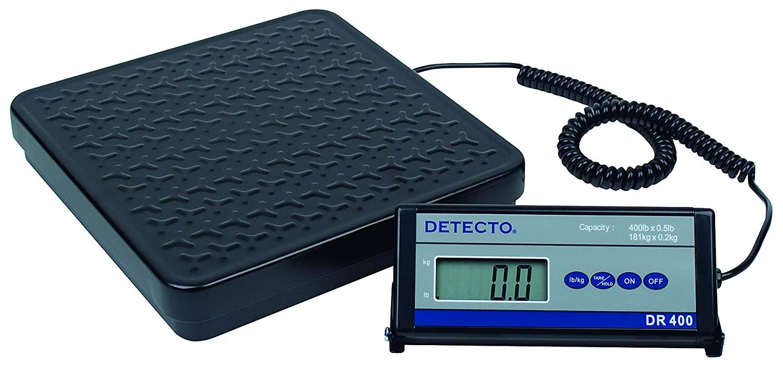 Detecto DR400 Portable Digital Receiving Scale,12
