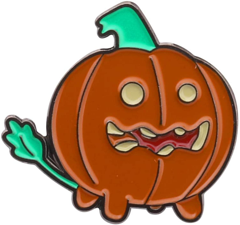 CENWA Pumpkin Enamel Pin Halloween Jewelry Thanksgiving Day Gift Pumpkin Jewelry Fall Themed Autumn Jewelry
