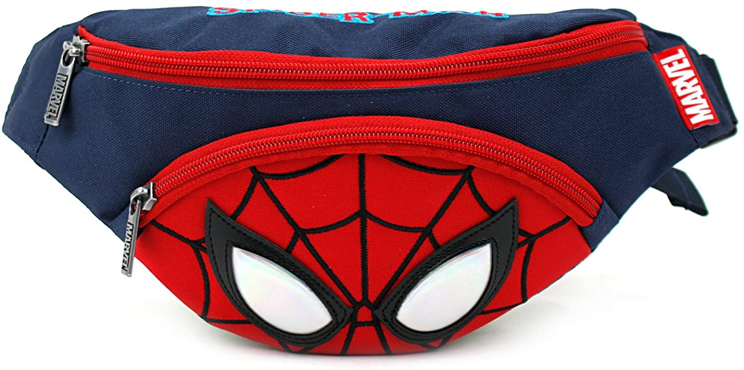 Spider Man Small HipSack Waist Pack Fanny Phone Wallet for Kids
